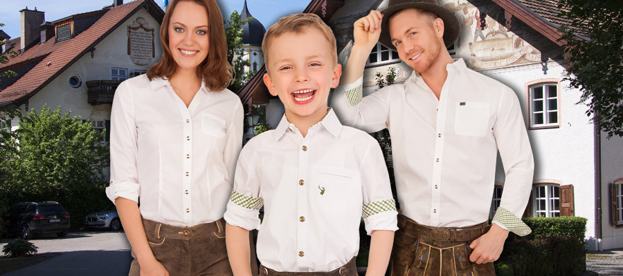 Lieblingstrend Partnerlook | Familie im Trachtenmode Outfit